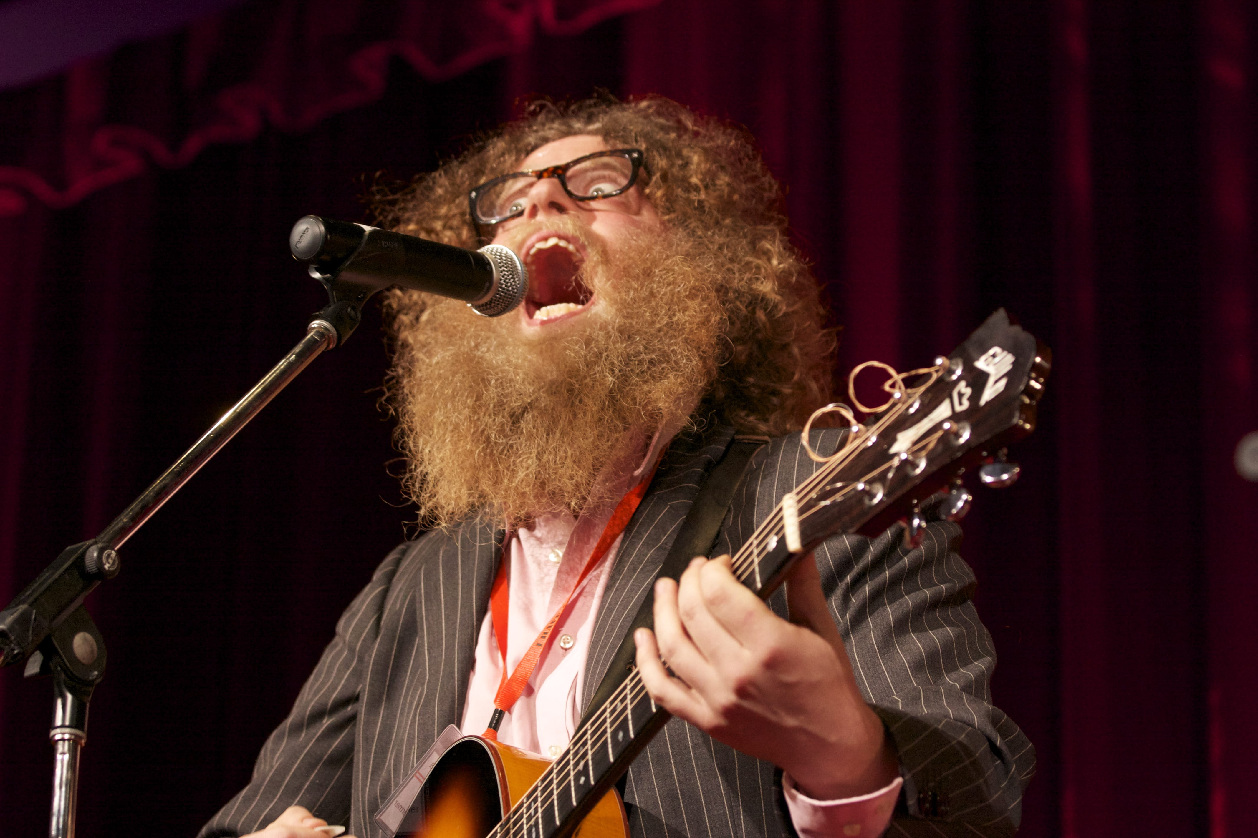 The first Ben Caplan article that does not mention his facial hair
