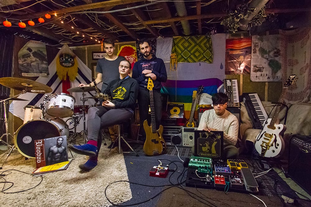 Inside King's: the Wayo's rehearsal space