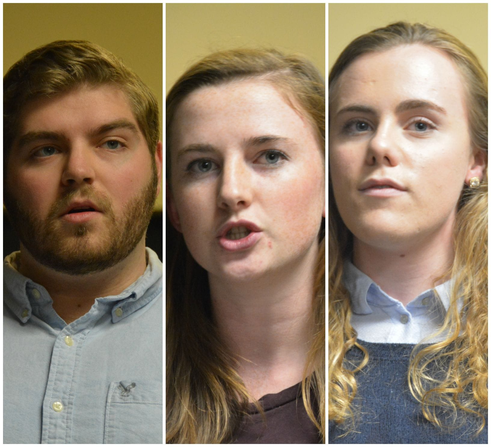 Elections 2k15: Davison, McNally, Polo run for Financial VP
