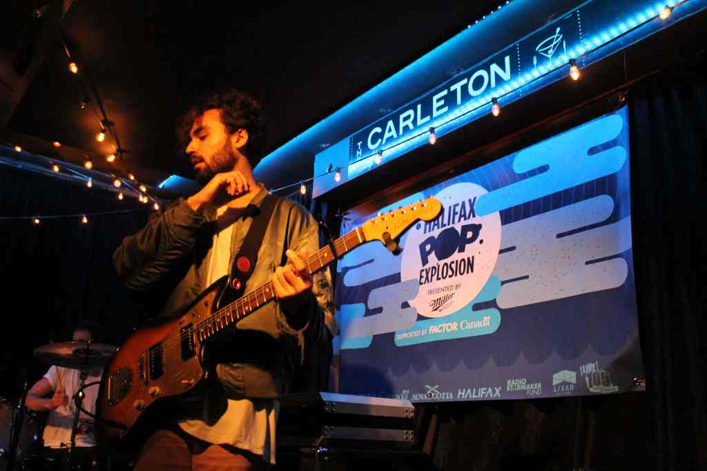 The Belle Game performing at the Carleton Music Bar & Grill. (Photo: John Sandham)