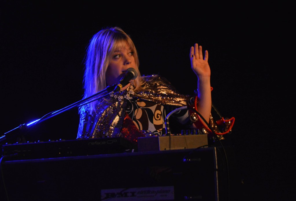 Basia Bulat at the Marquee Ballroom. (Photo: Hannah Daley)