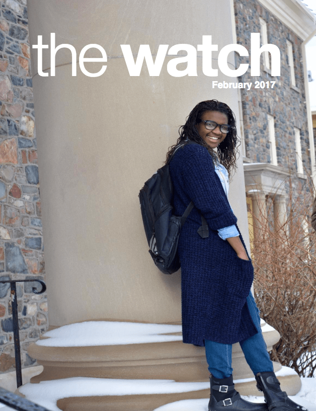 February 2017 issue of The Watch