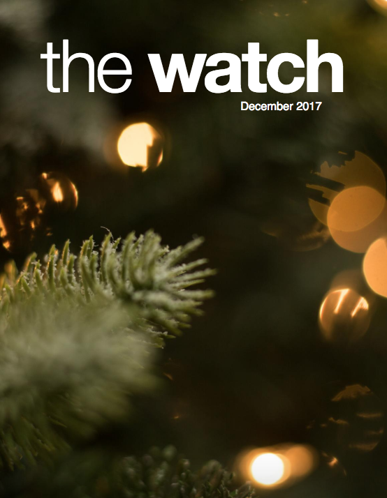 December 2017 Issue of The Watch
