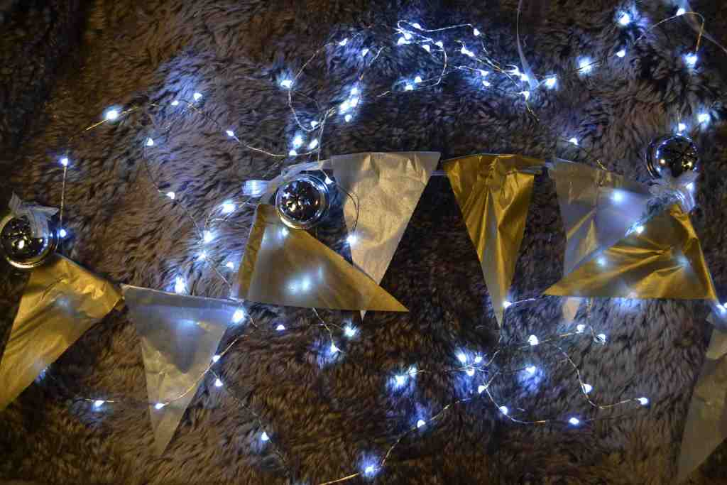Some of that goog 'ol festive bunting. (Photo: Michelle Cuthbert)