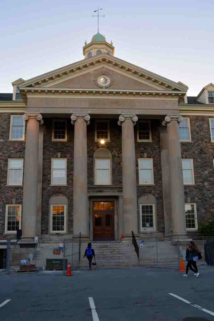 The Arts & Administration building at King's (Photo: Kristen Thompson)