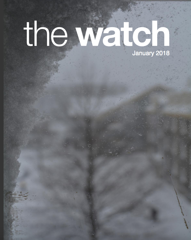 January 2018 issue of The Watch