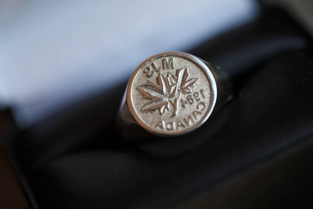 A signet ring (Photo: Matt Stickland)