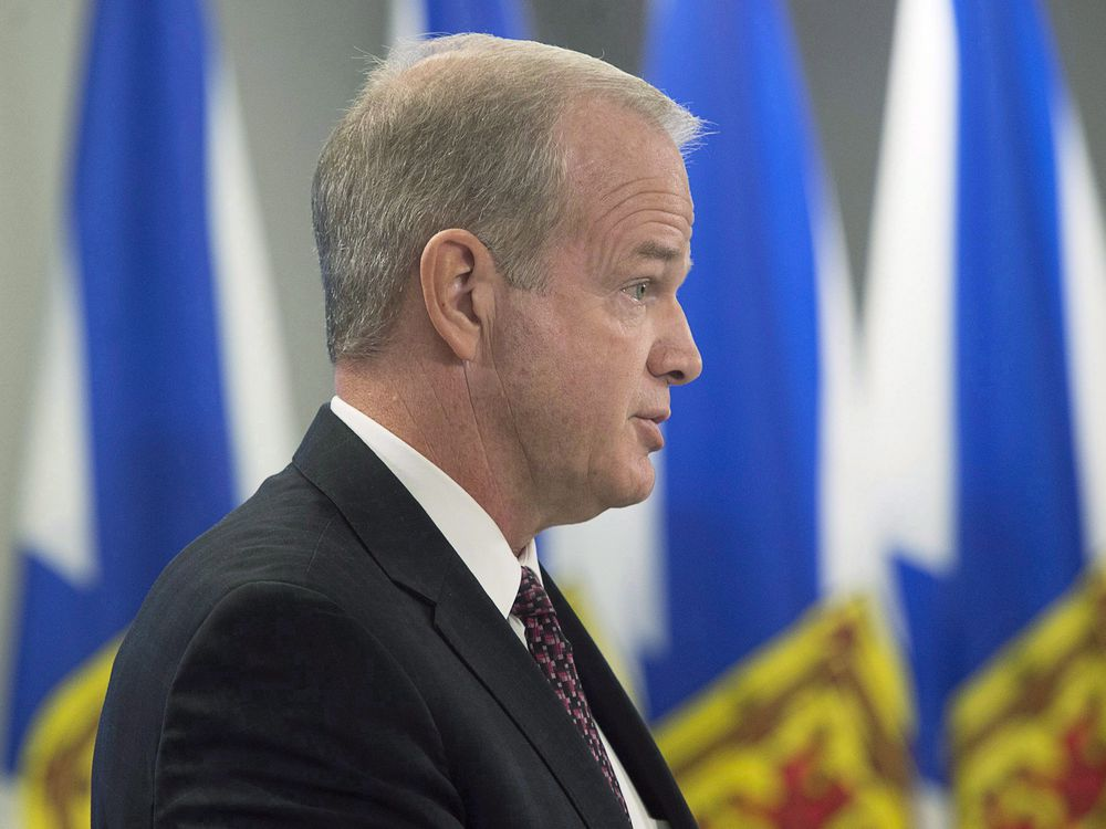 Justice Minister Furey announced the policy alongside the leaders of the PC and NDP provincial parties, saying that the practise no longer has a place in Nova Scotian society. (Image courtesy of Andrew Vaughan/The Canadian Press)