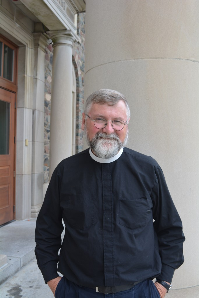 Father Ingalls, the new chaplain at King's.
